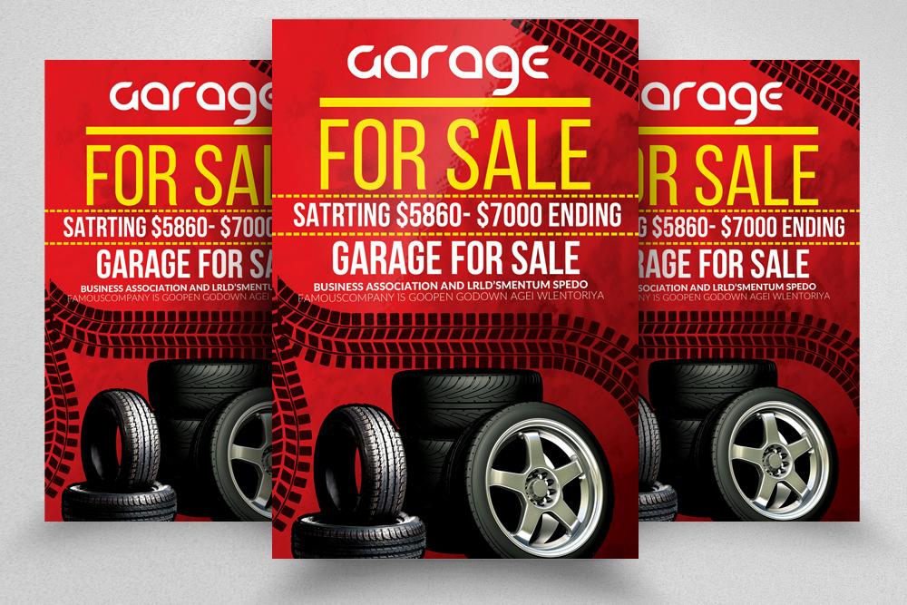10 Garage Sale Flyer Bundle example image 8
