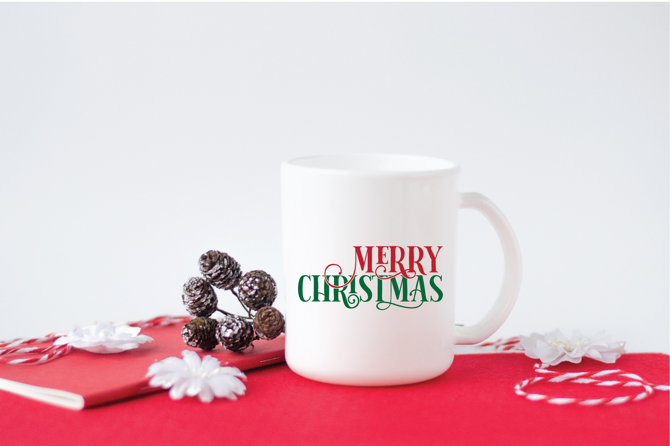 Merry Christmas SVG Cut File example image 5