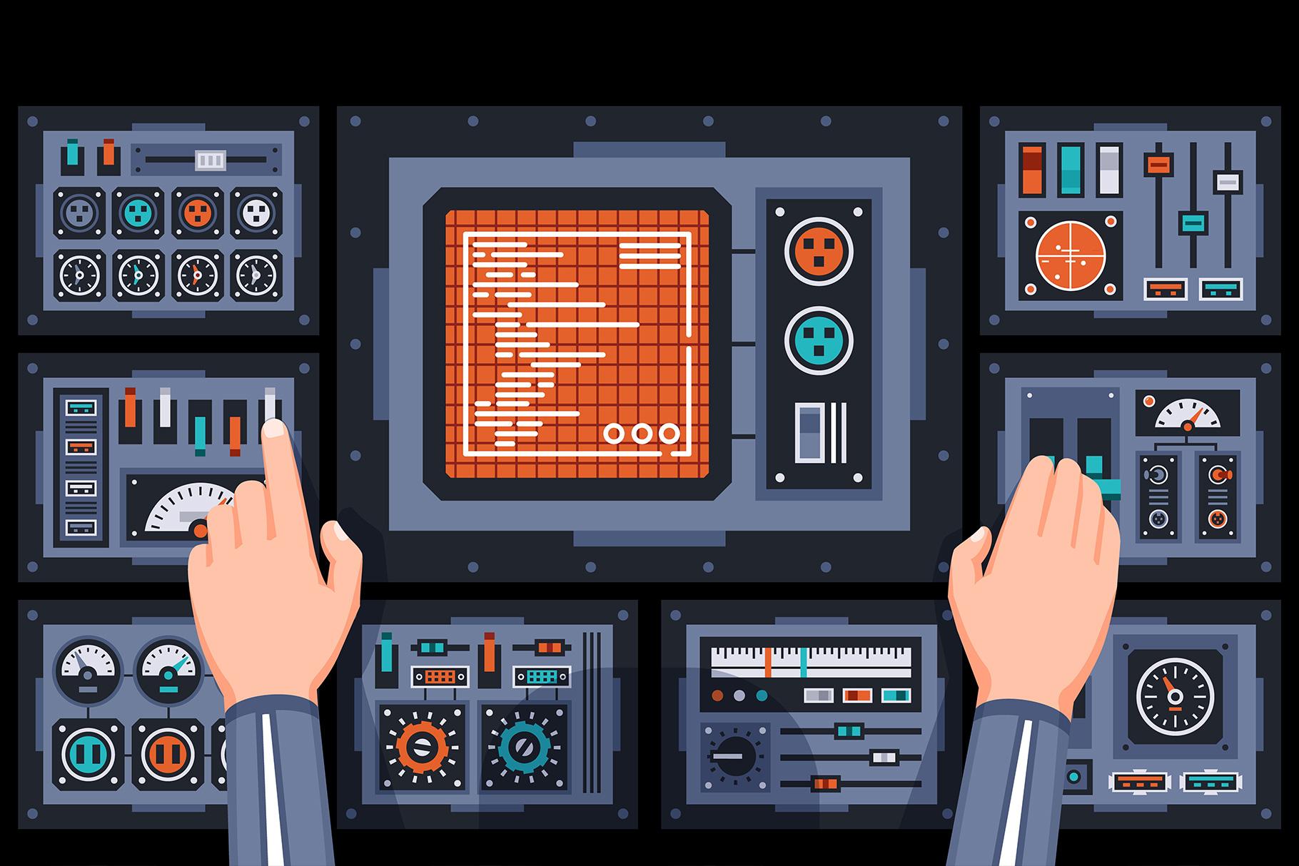 Control Panels Spaceship example image 7