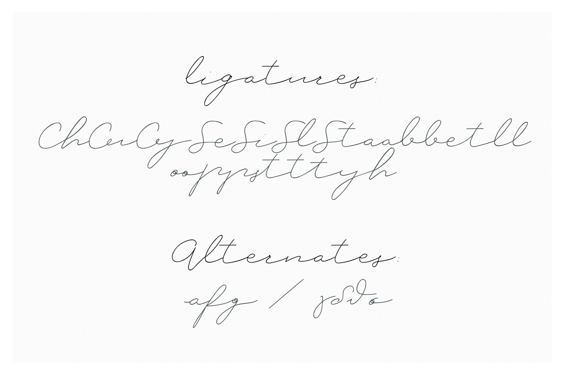 Petit Nuage Signature Font example image 4