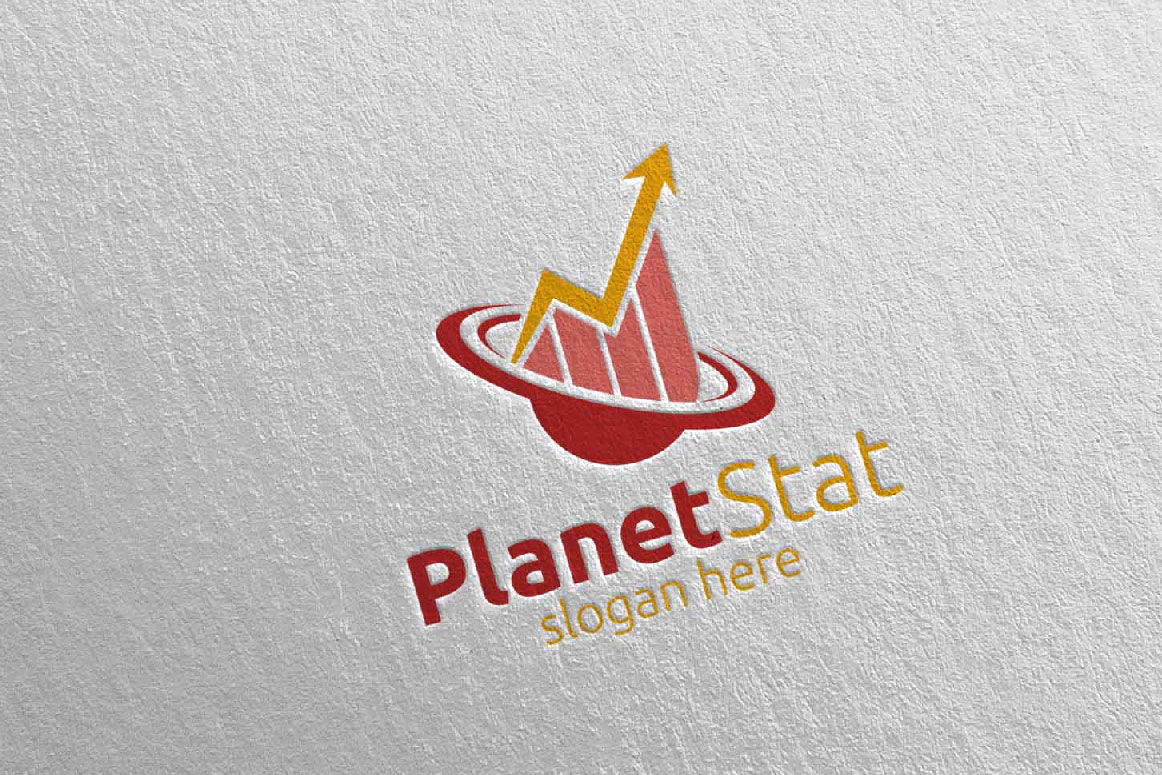 Planet Marketing Financial Advisor Logo Design 25 example image 3