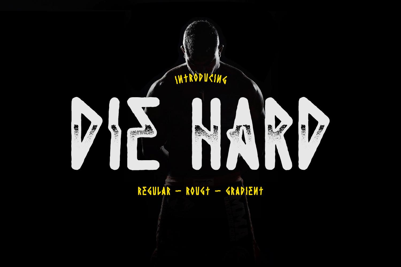 Die Hard Typeface example image 1