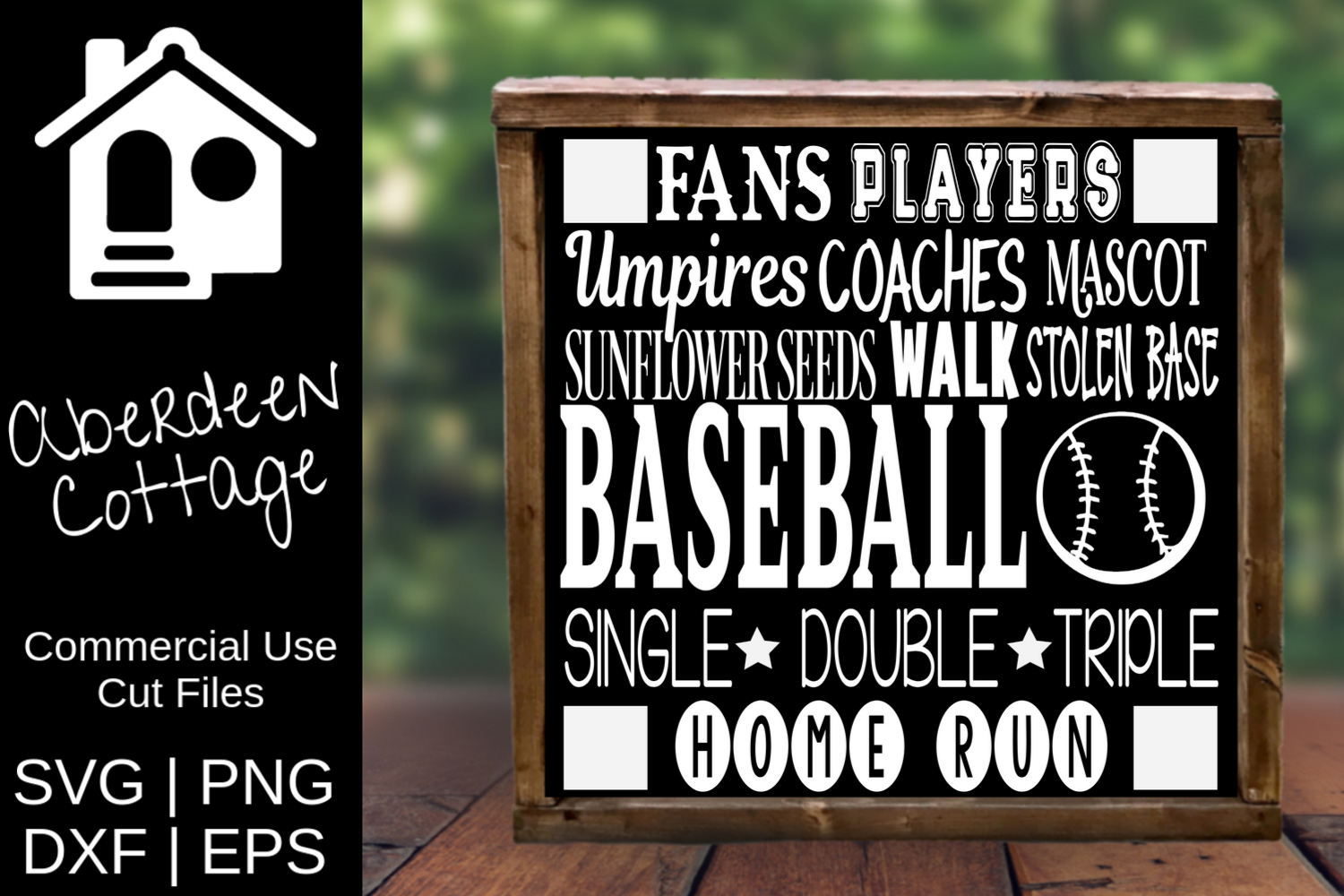 Baseball Expressions SVG   PNG   DXF   EPS example image 1