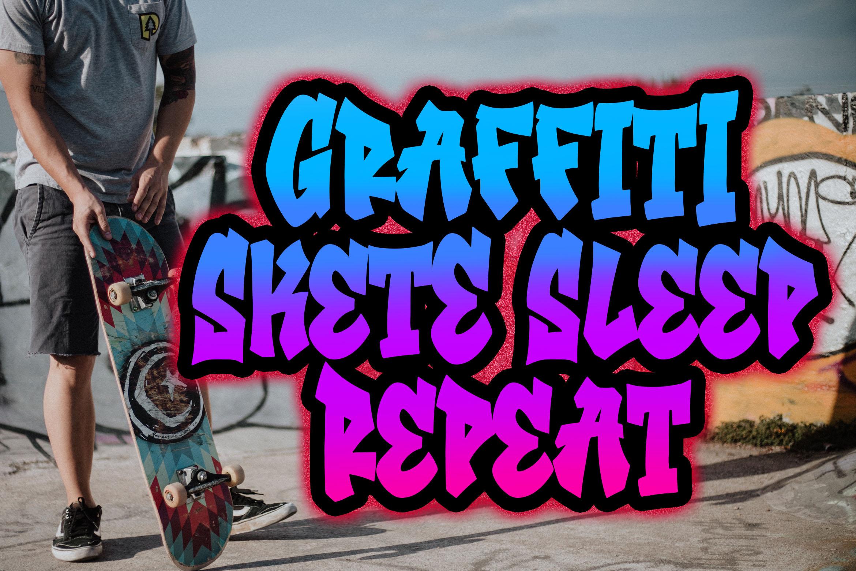 Southsider - Graffiti Typeface example image 4