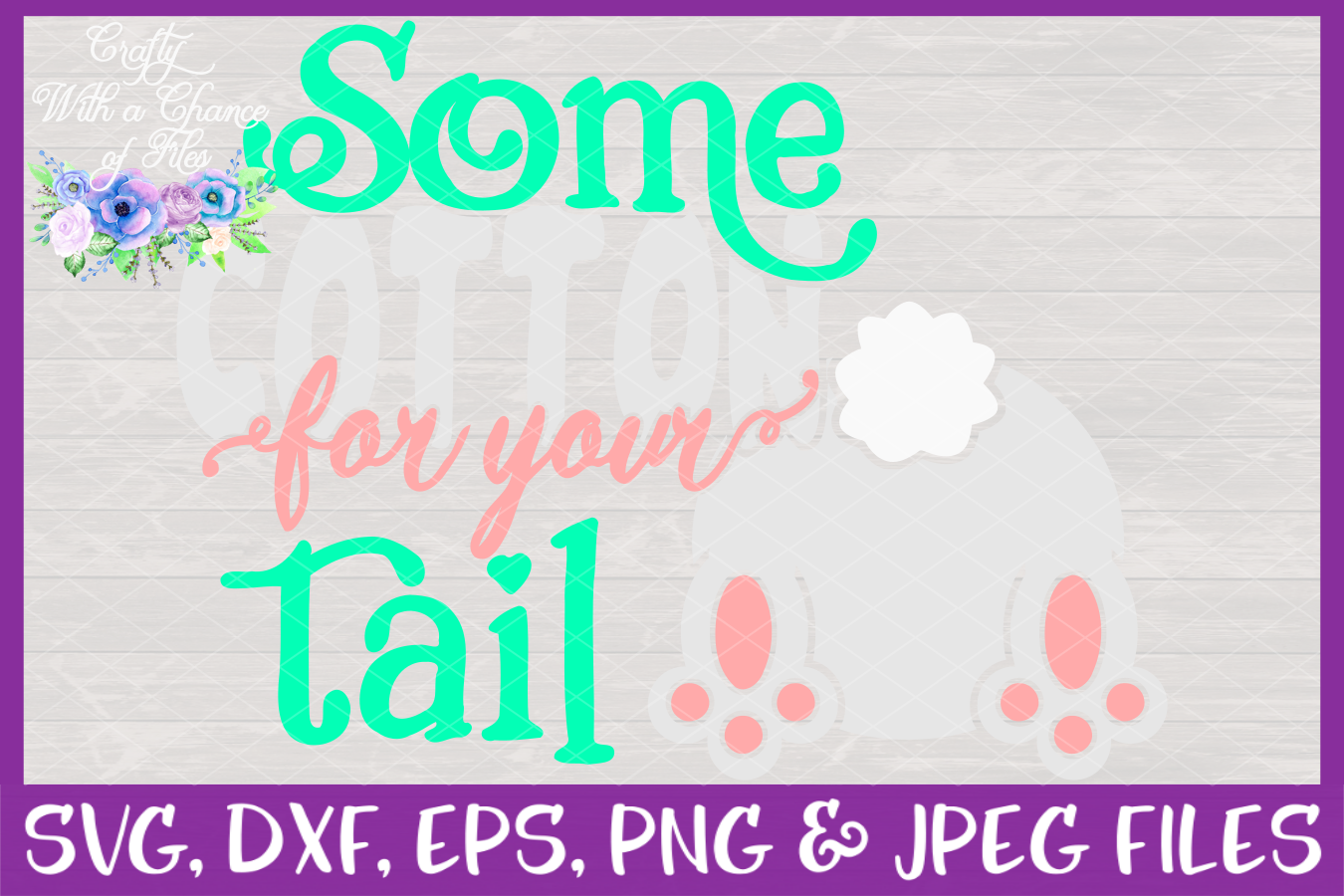Some Cotton For Your Tail SVG * Easter SVG * Toilet Paper SVG * Easter Toilet Paper SVG * SVG Vector Cutting File For Use With Cricut and Silhouette example image 3