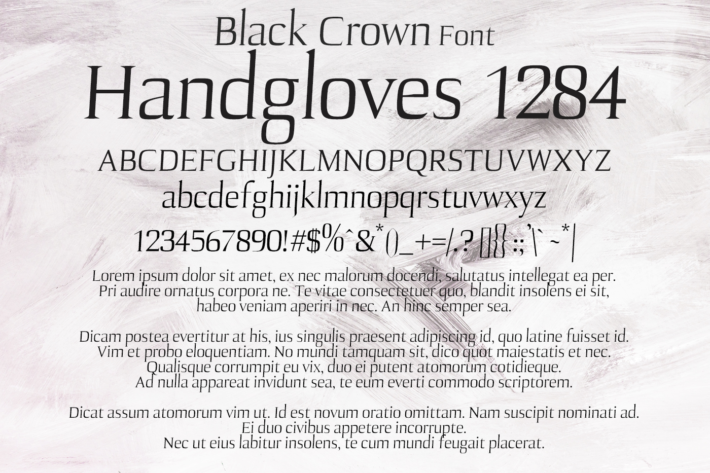 Black crown Font example image 2
