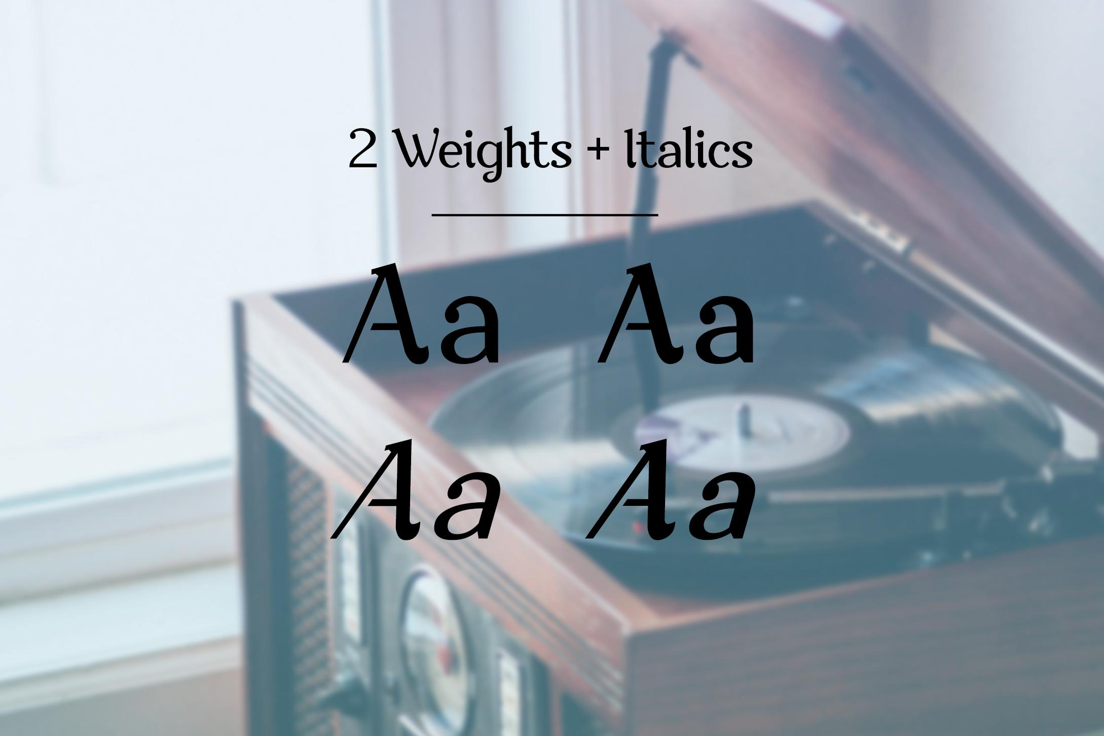 Nova Classic Stylish Display Font example image 3