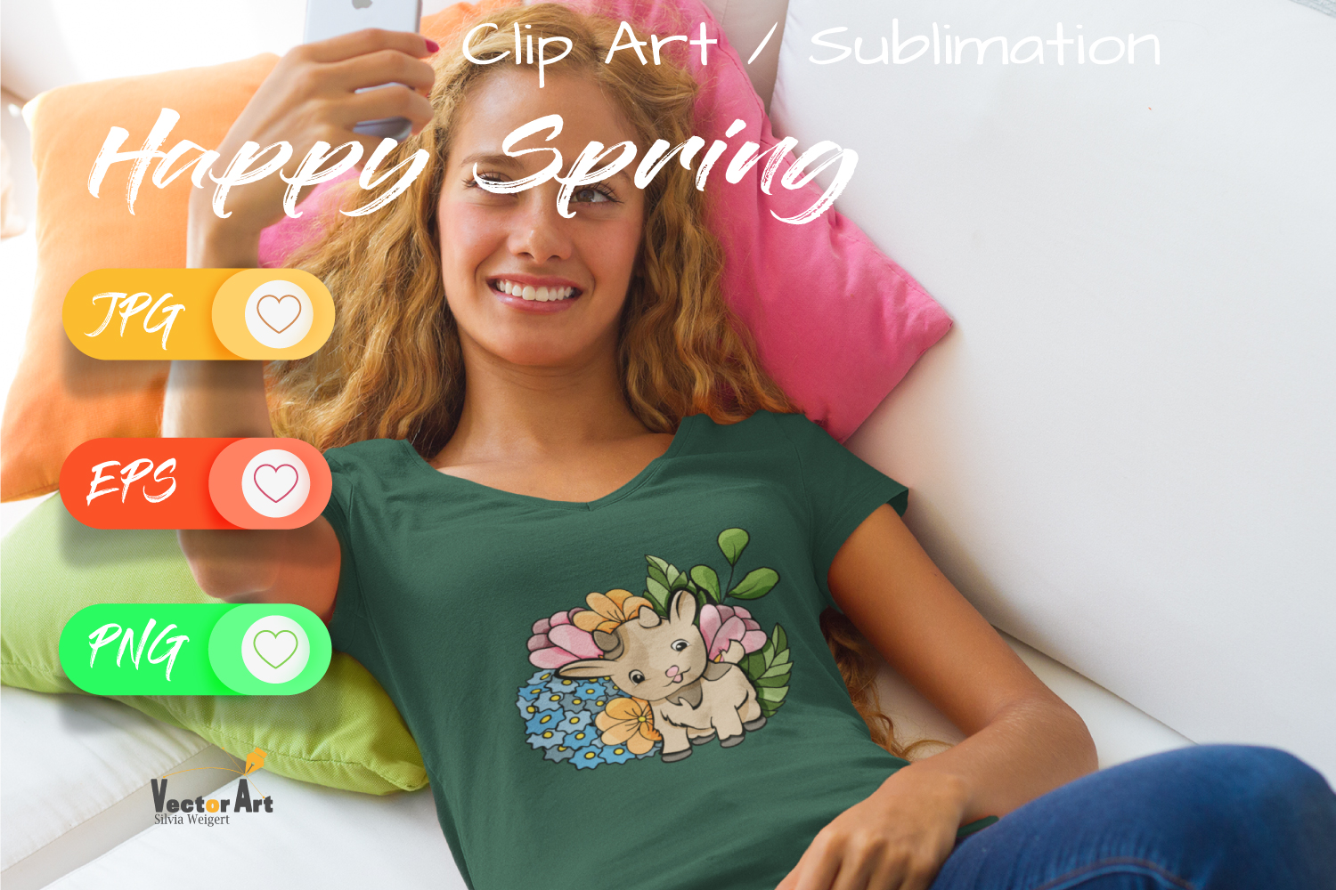 7x Easter and Spring - Mini Bundle - Print and Sublimation example image 4