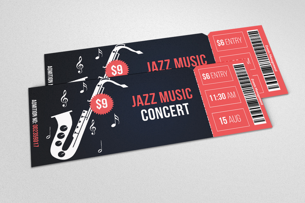 4 Event Party Tickets Bundle example image 4