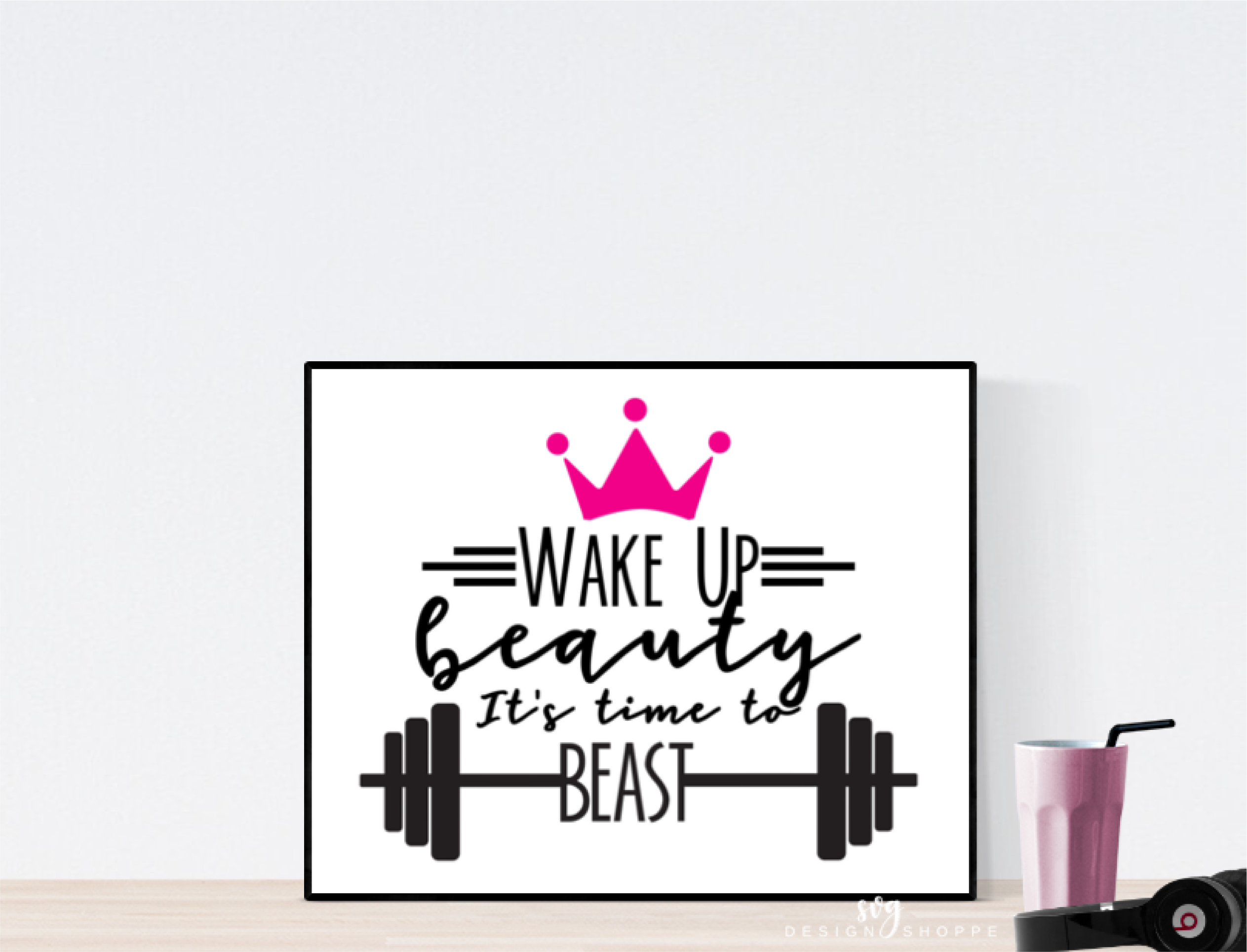 Fitness SVG Files Workout SVG Cut Files Printable Clipart DXF EPS PNG JPG Files Digital Circuit Design Files Silhouette Cameo Cut Files Commercial Use example image 2