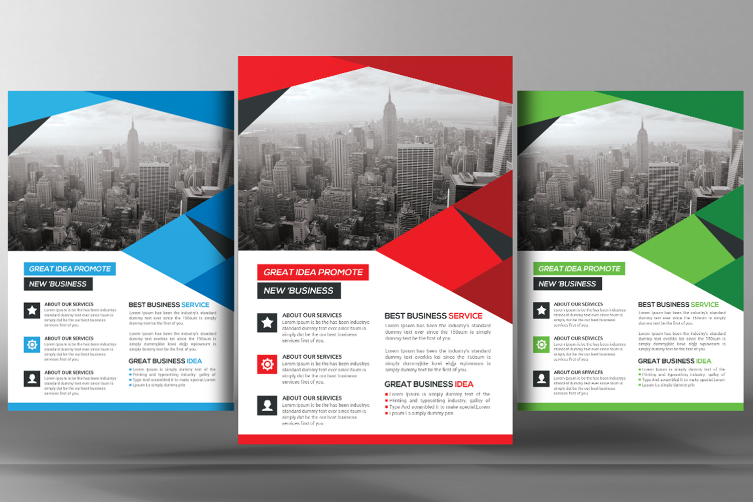 Shape Business Flyer example image 1