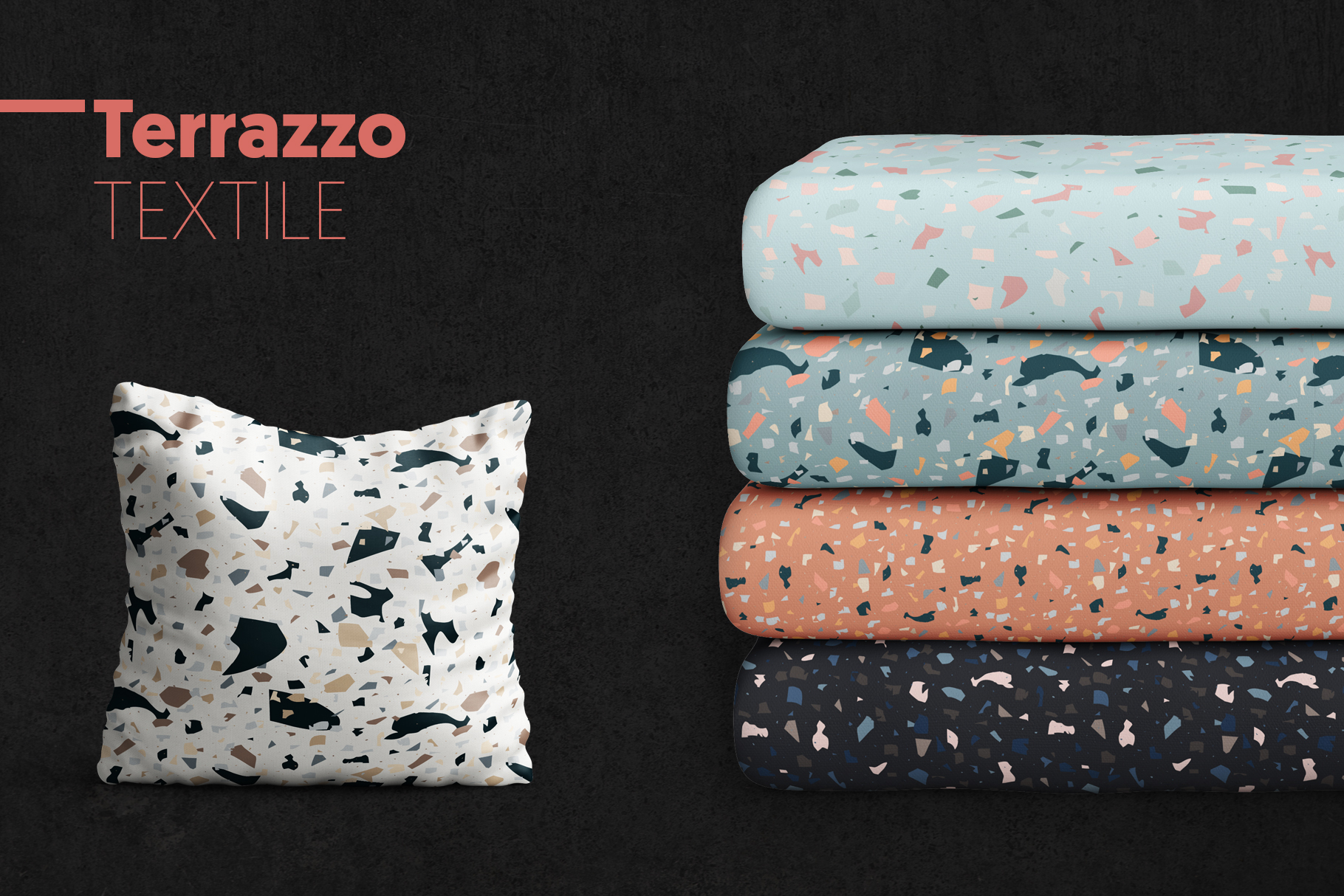 Terrazzo Seamless Patterns example image 3