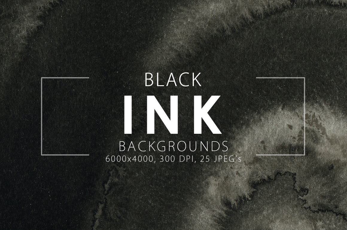 Only Ink & Marble Backgrounds Bundle example image 7
