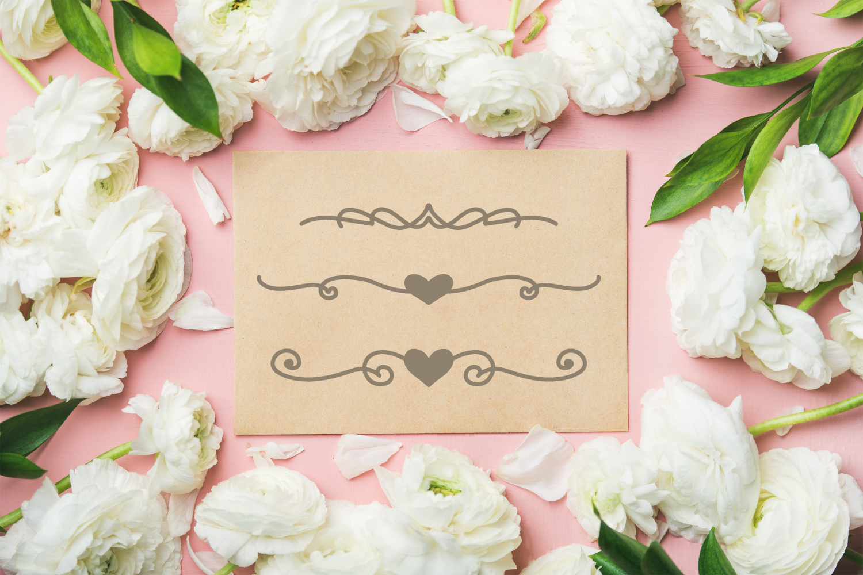 Garnish - A Fancy Flourish and Monogram Font example image 3