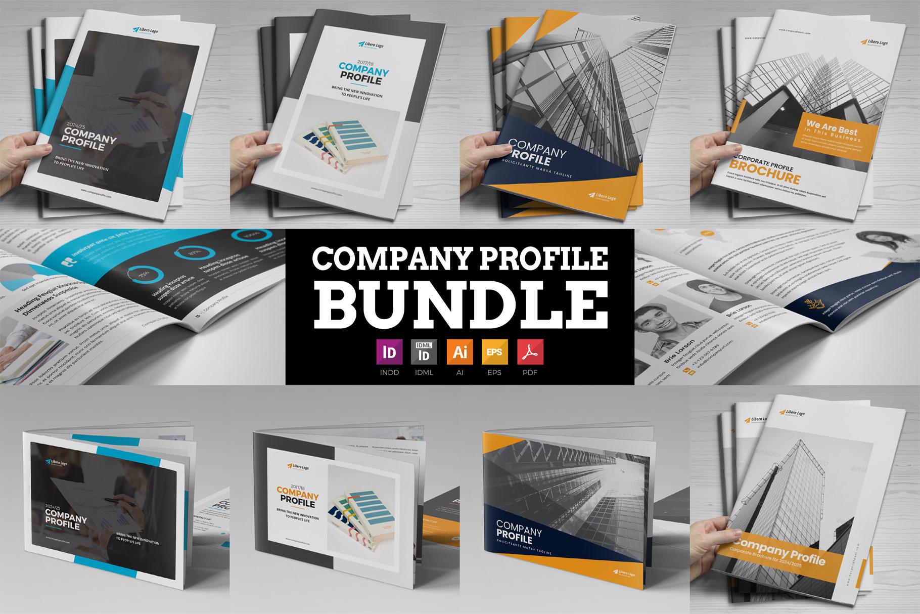 Company Profile Bundle example image 1