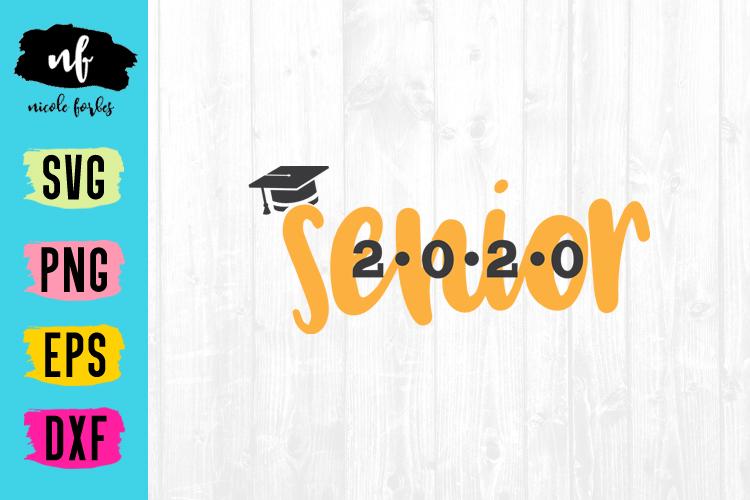 Senior 2020 Graduation SVG Bundle example image 8