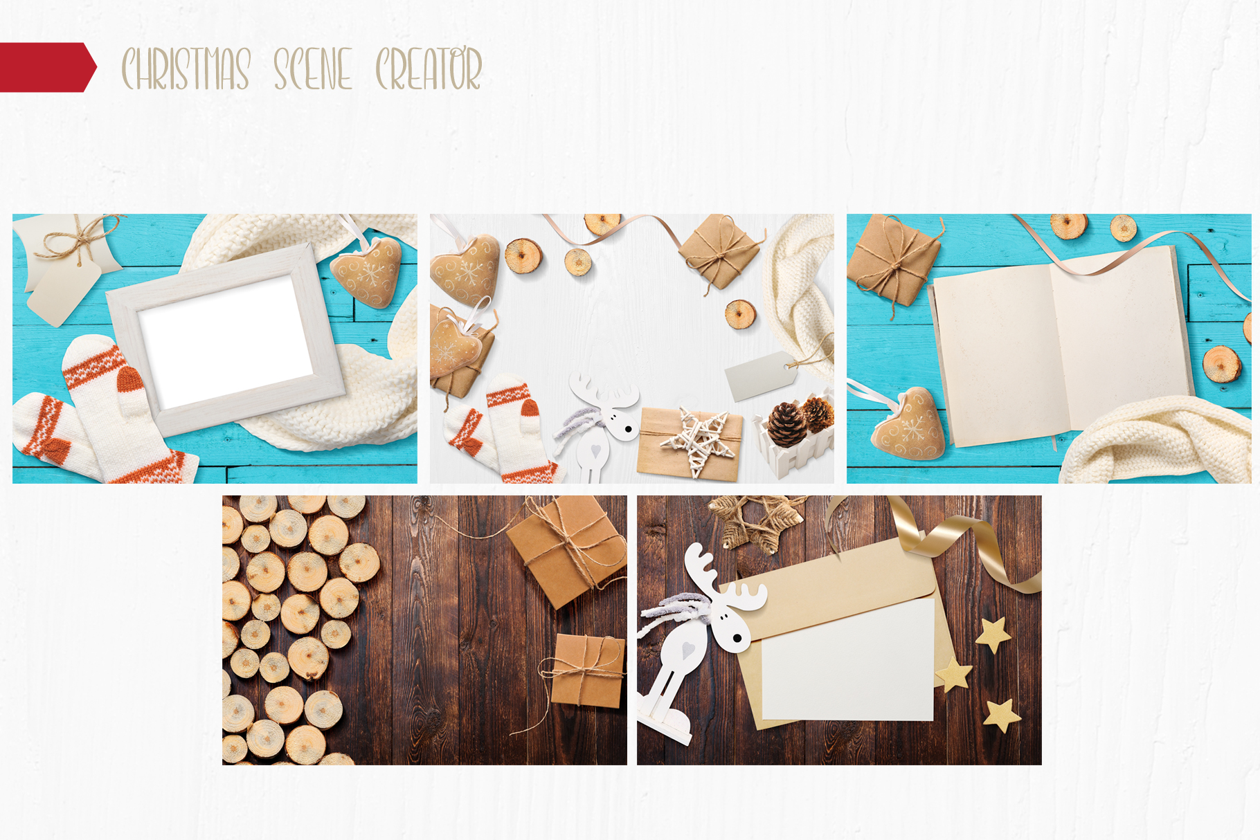 Christmas Bundle mockup example image 16