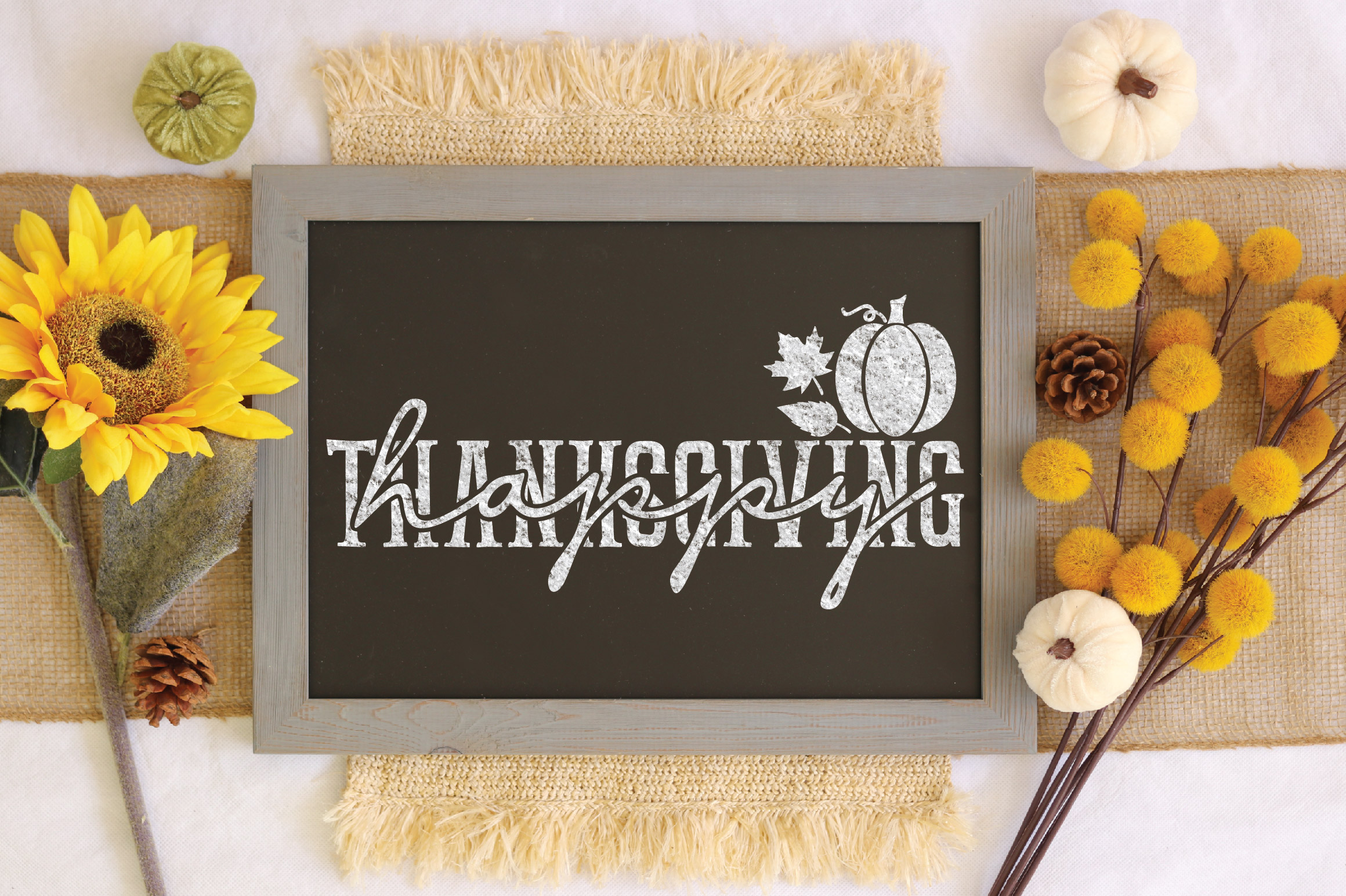 Happy Thanksgiving SVG Cut File example image 3