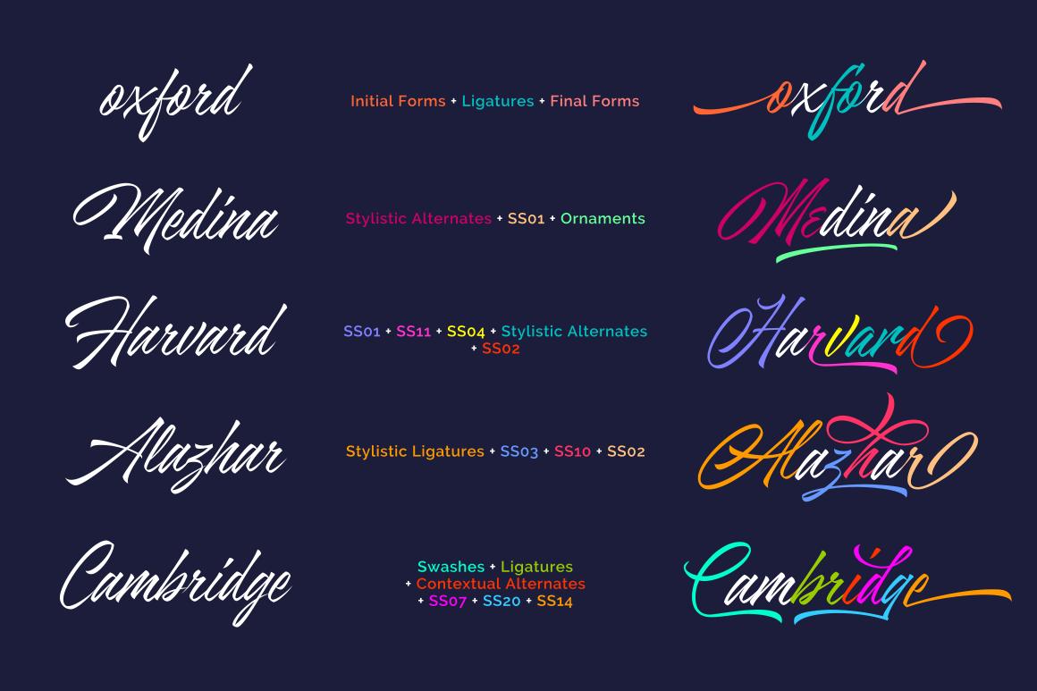 Azkia Script - Intro Sale! example image 6