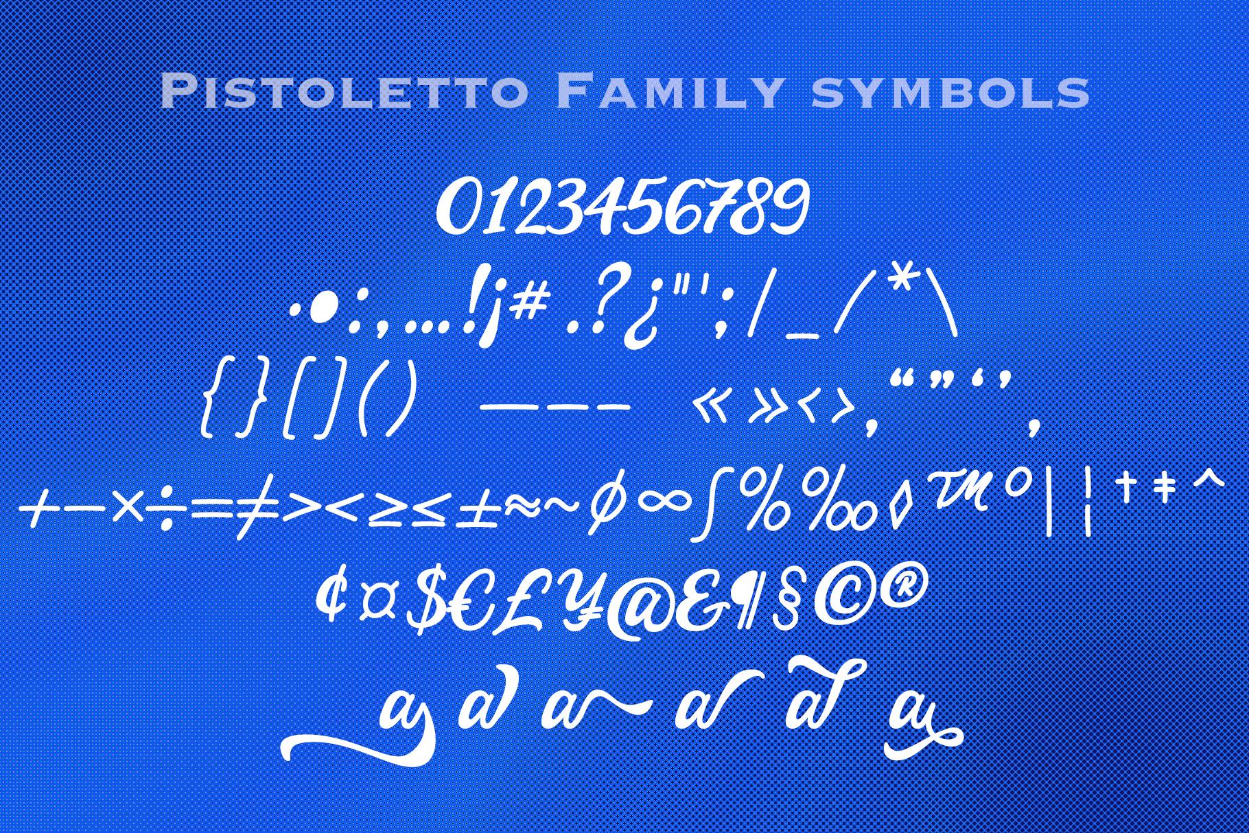 Pistoletto free example 5