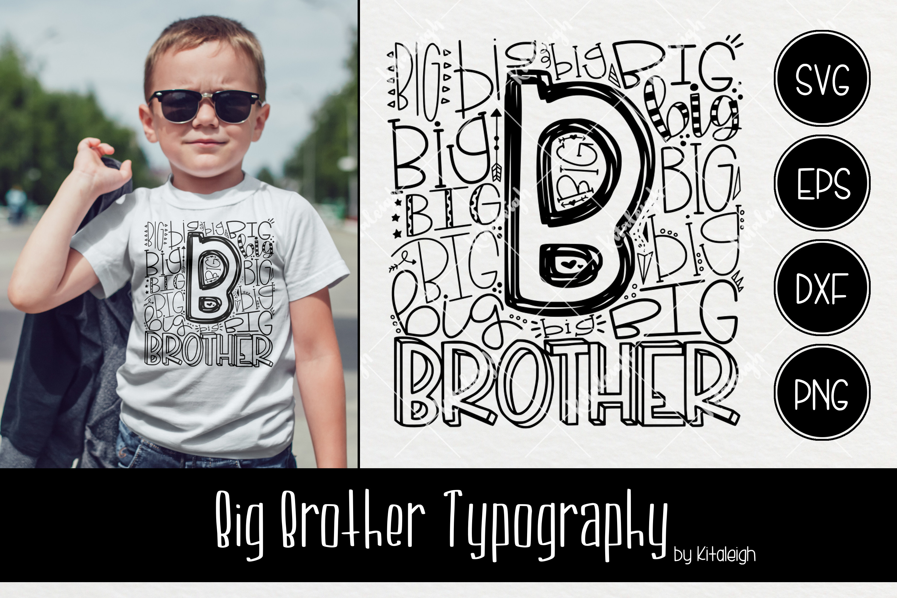 Sibling Typography Bundle example image 4