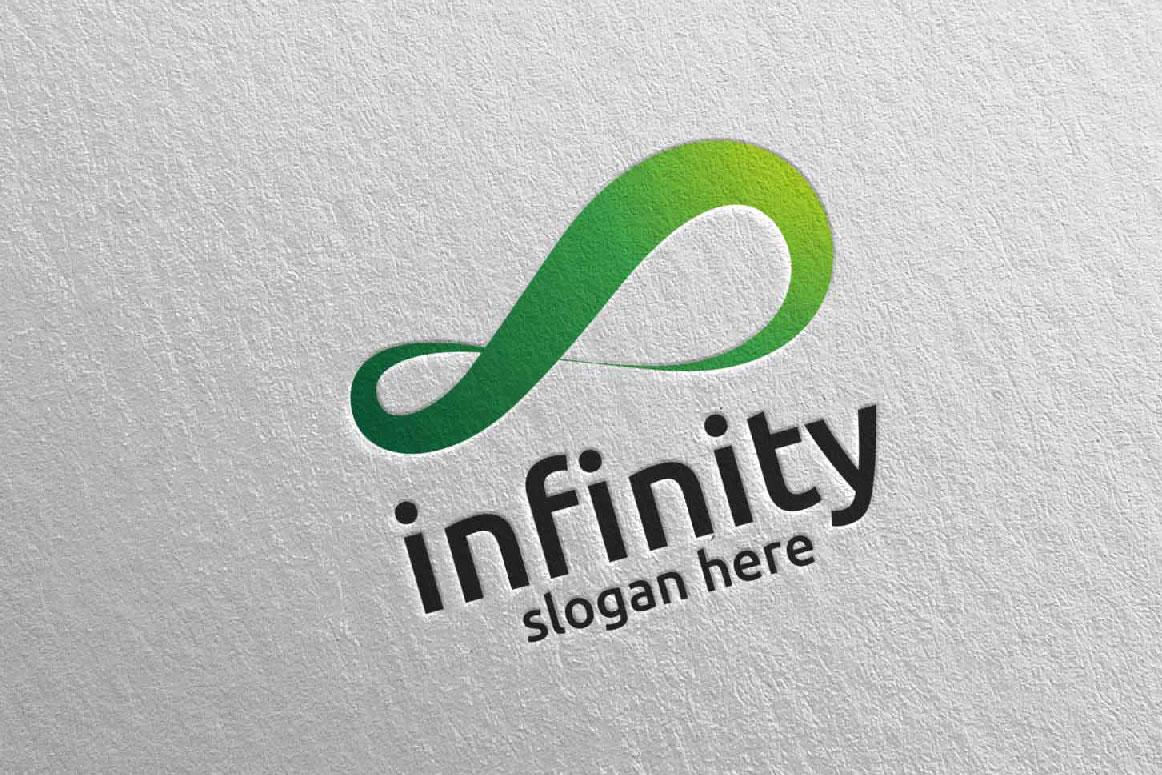 Infinity loop logo Design 28 example image 2