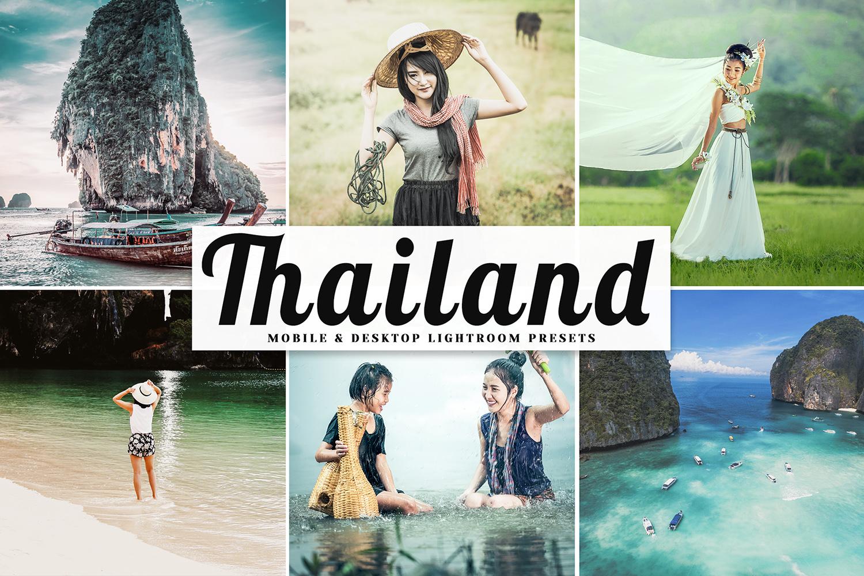 Thailand Mobile & Desktop Lightroom Presets example image 1