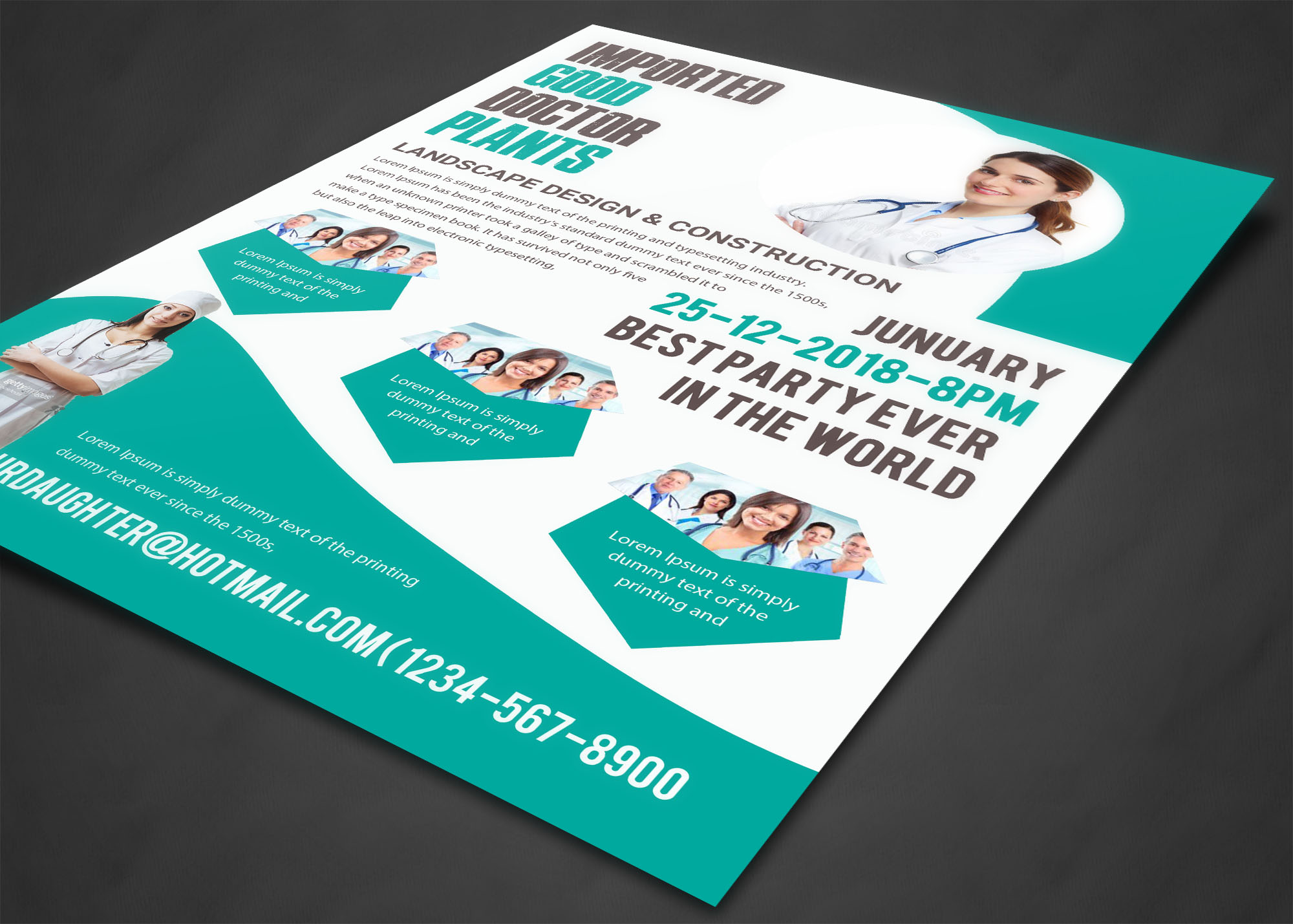 Doctor Flyer example image 5