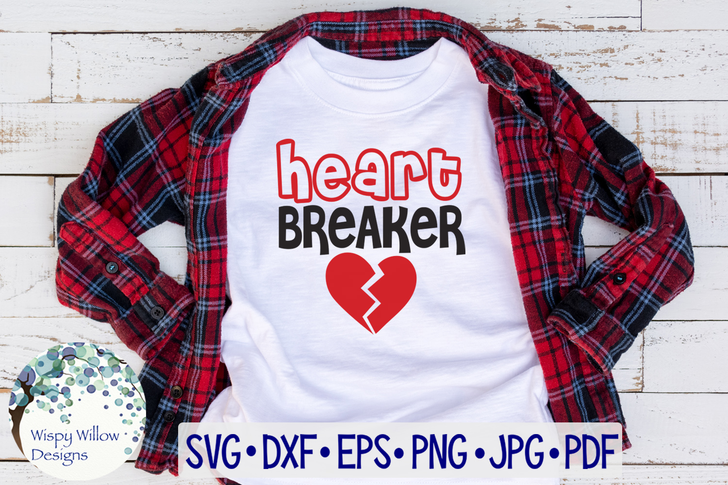 Heart Breaker | Valentine's Day SVG example image 1