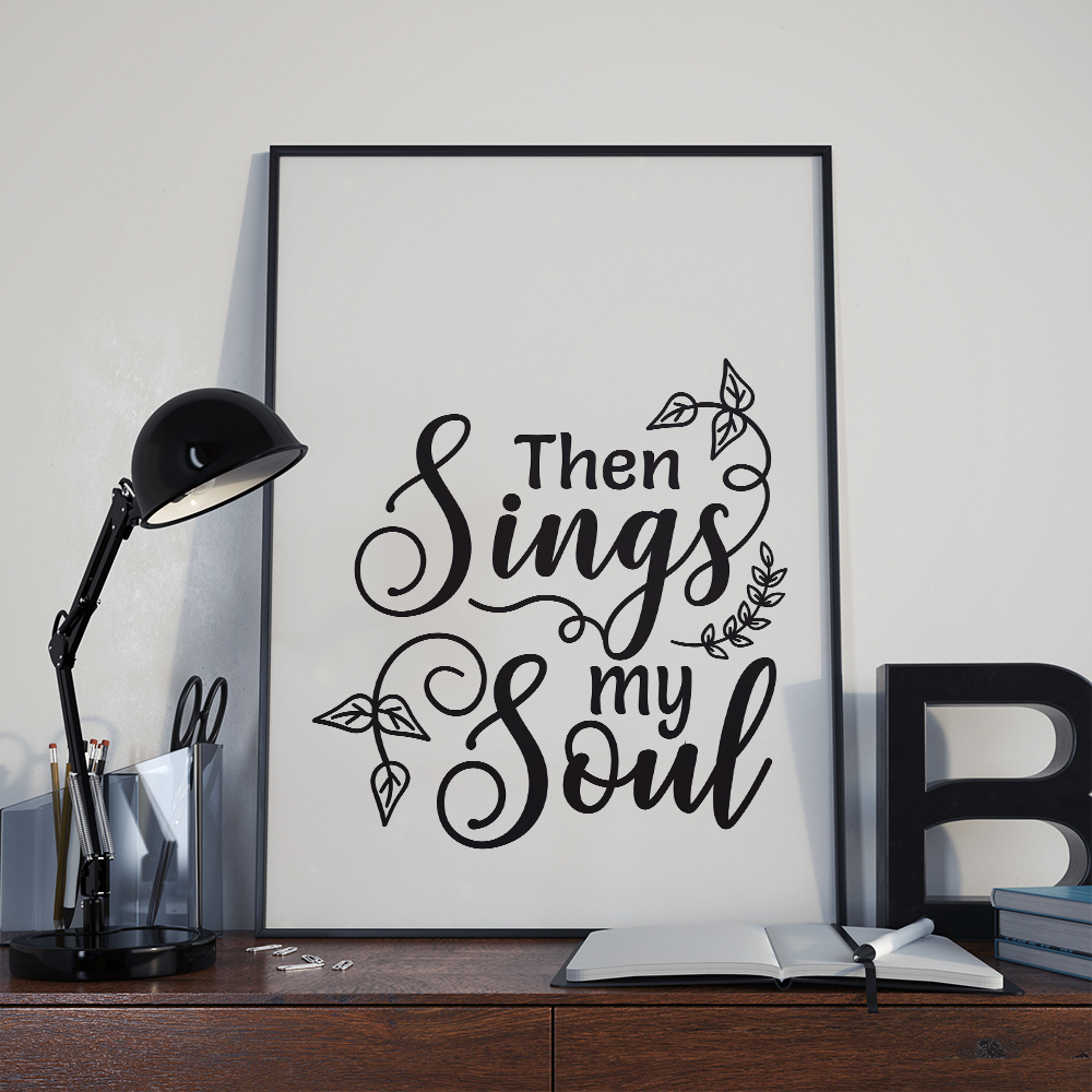 Then sings my soul, god svg, cut file, dxf, eps, svg example image 2