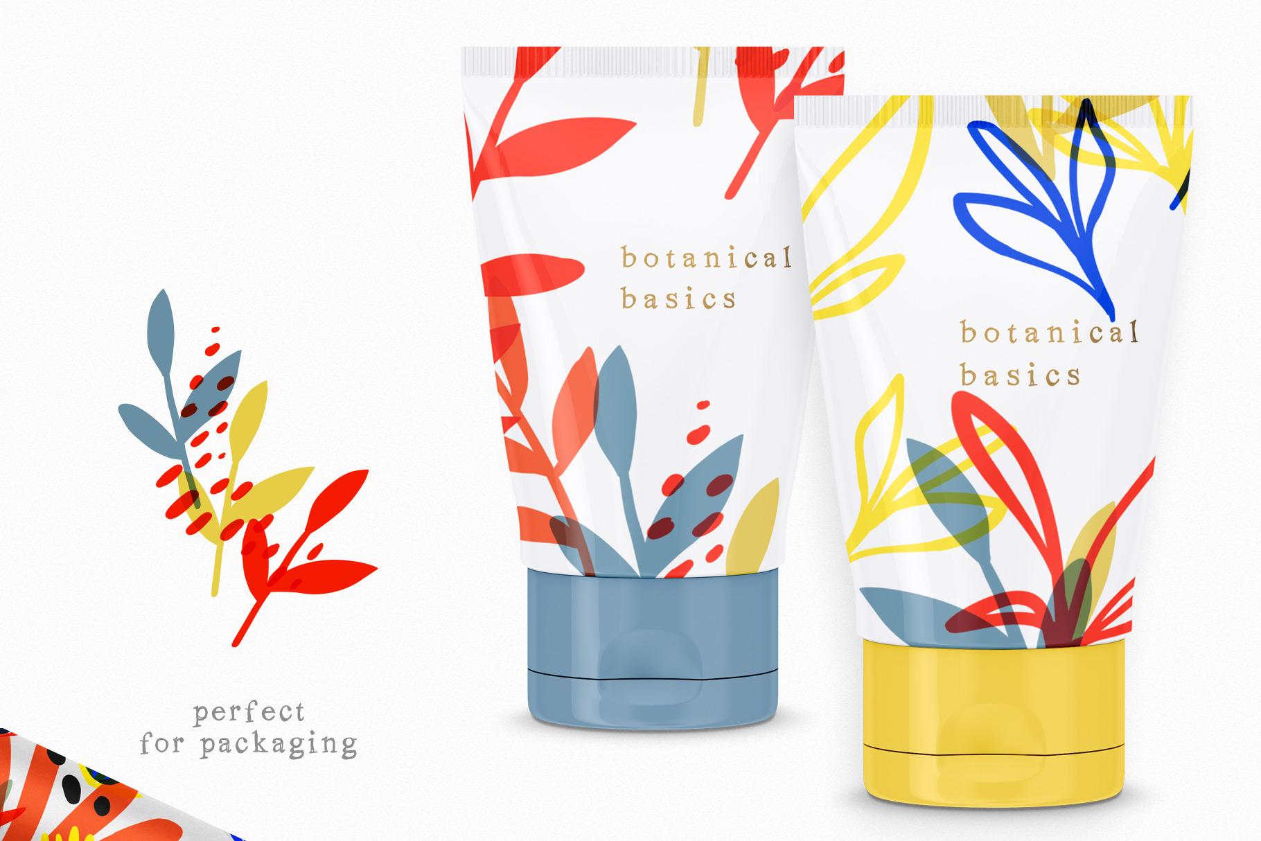Botanical Basics Pattern Set example image 9