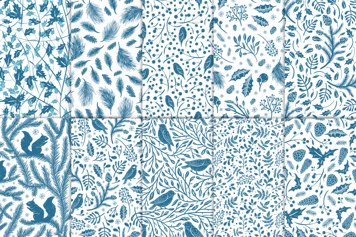 The first frosts patterns collection example image 3