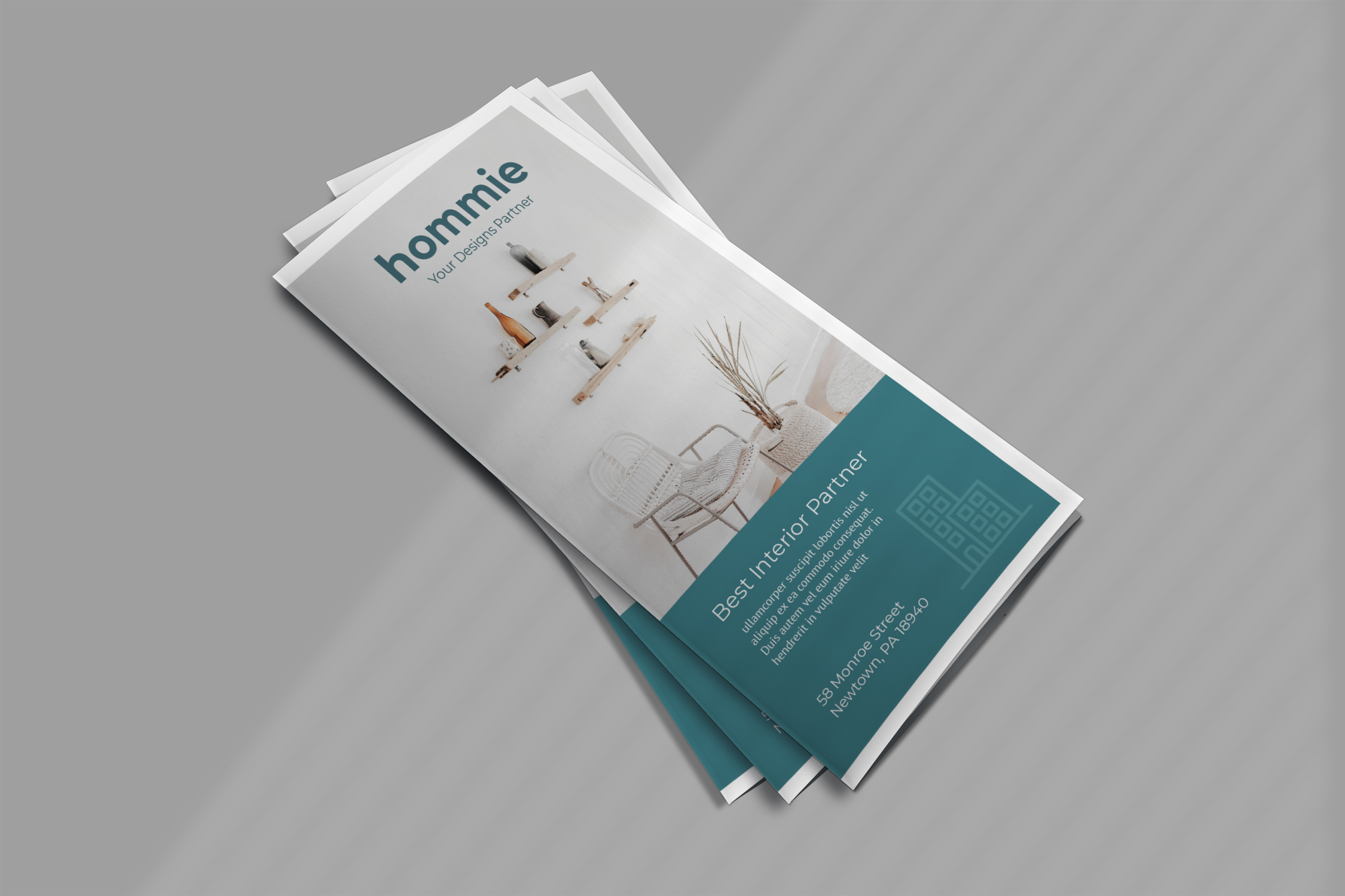Interior Promotion Trifold Brochure example image 4