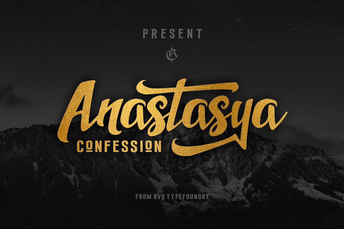 Anastasya confession example image 1