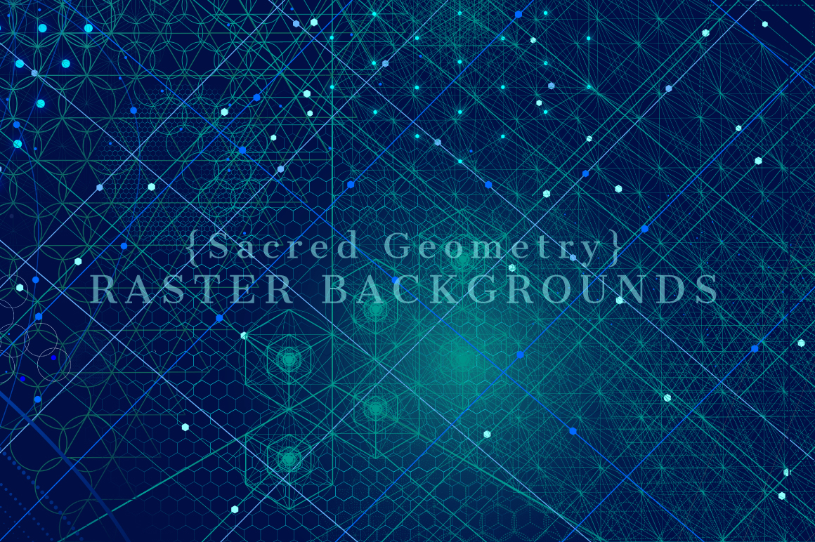 {Sacred Geometry} Raster Backgrounds example image 5