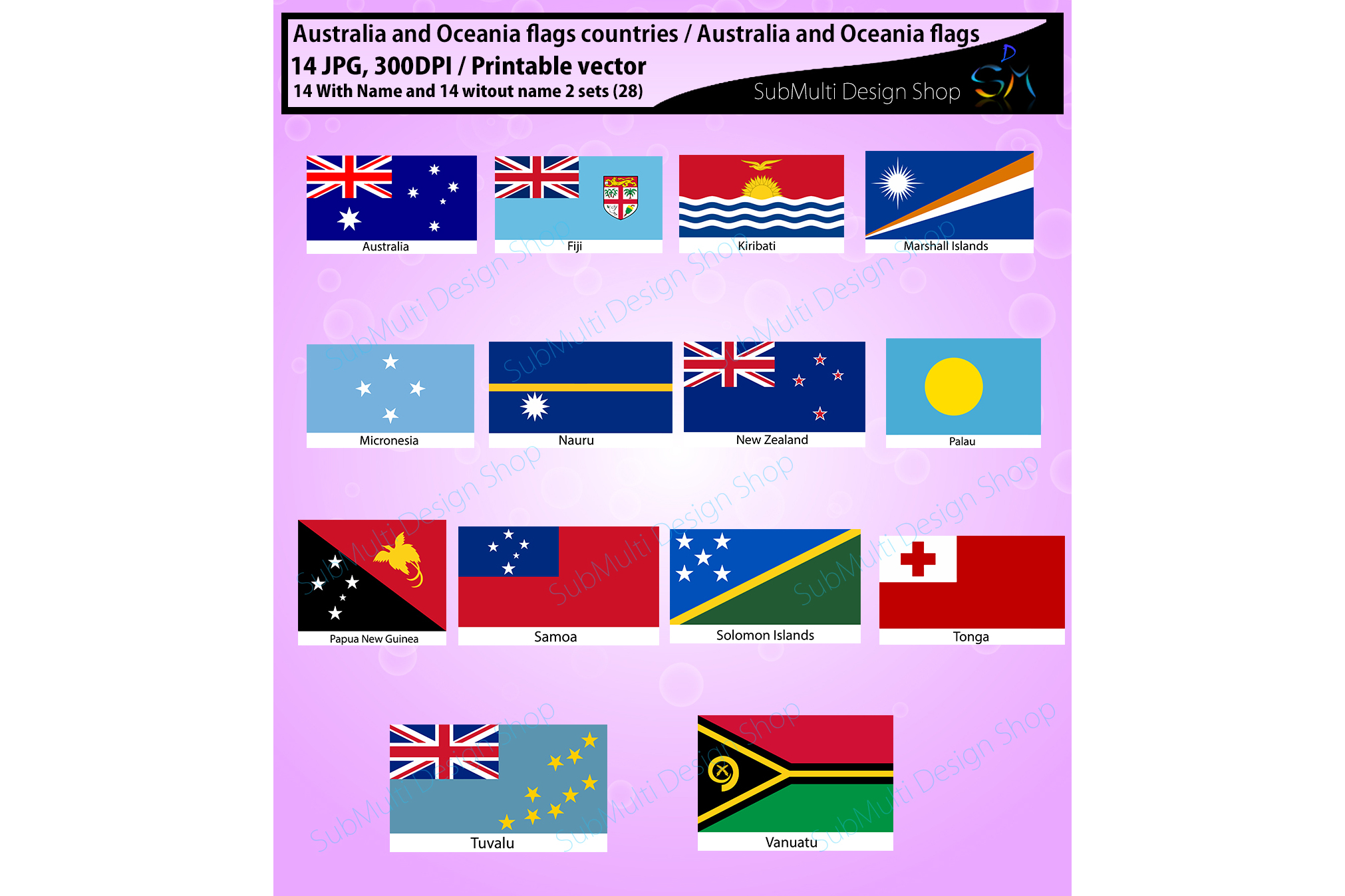 photo regarding Printable Flags identified as Australia and Oceania international locations Australia and Oceania flags Higher High quality flags flag clipart and silhouette printable flag