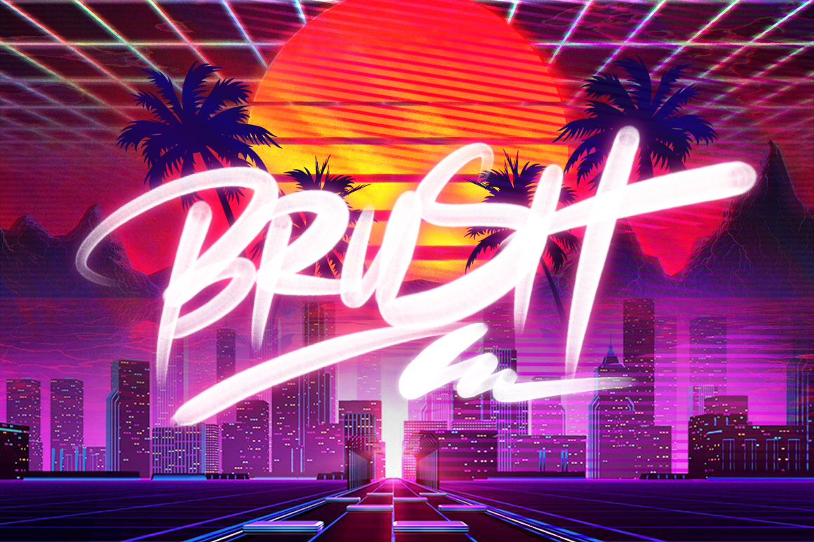 Retrowave Intro Maker