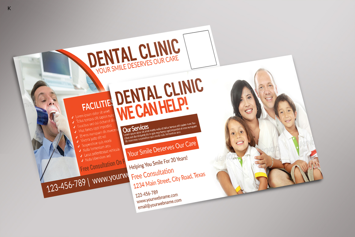 Dental Care Post Card example image 1