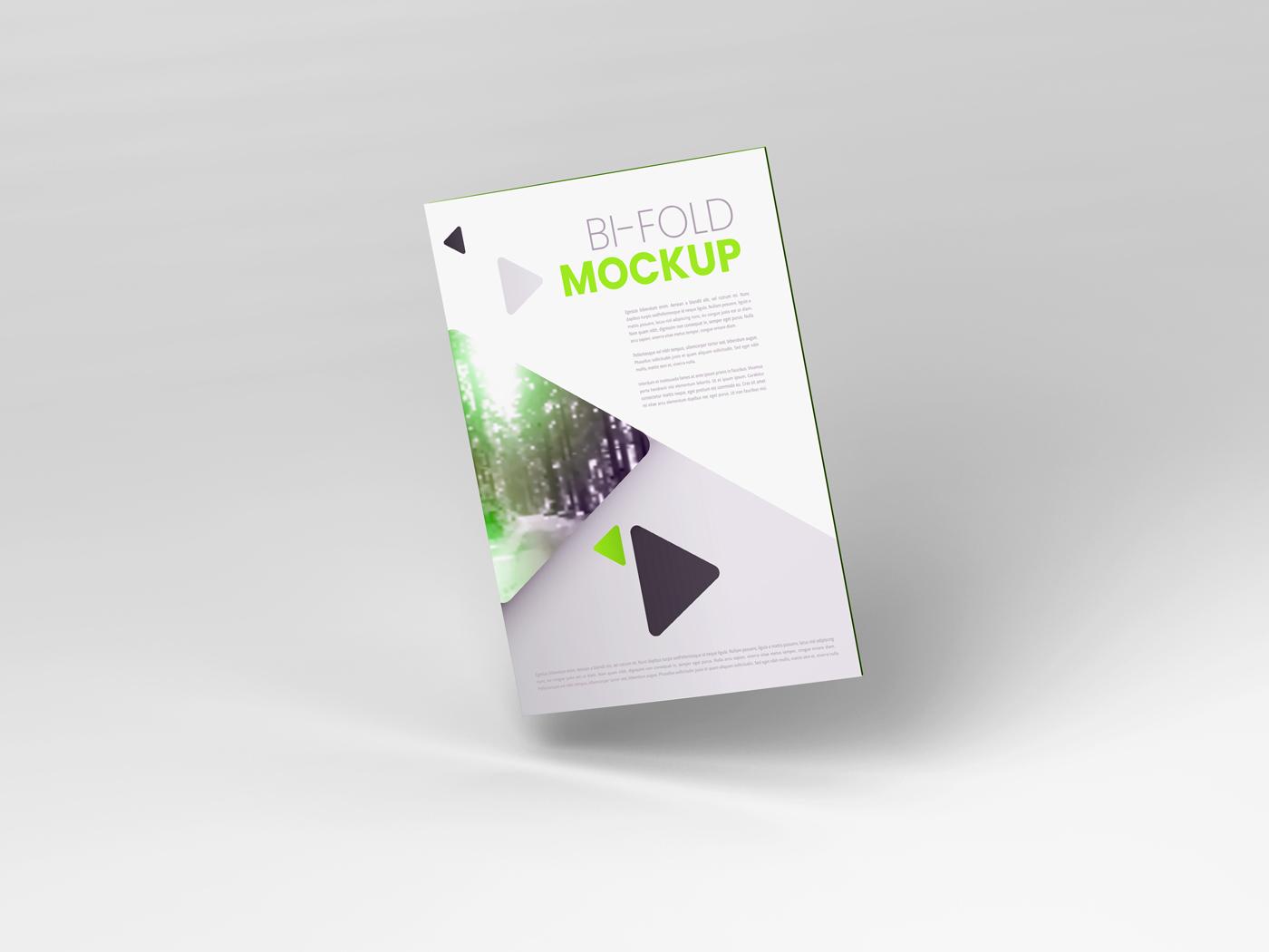 A4 Bifold Mockups V3 example image 11
