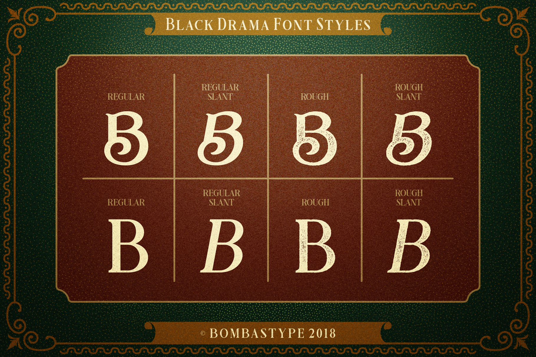 Black Drama Combination  Extras example image 7
