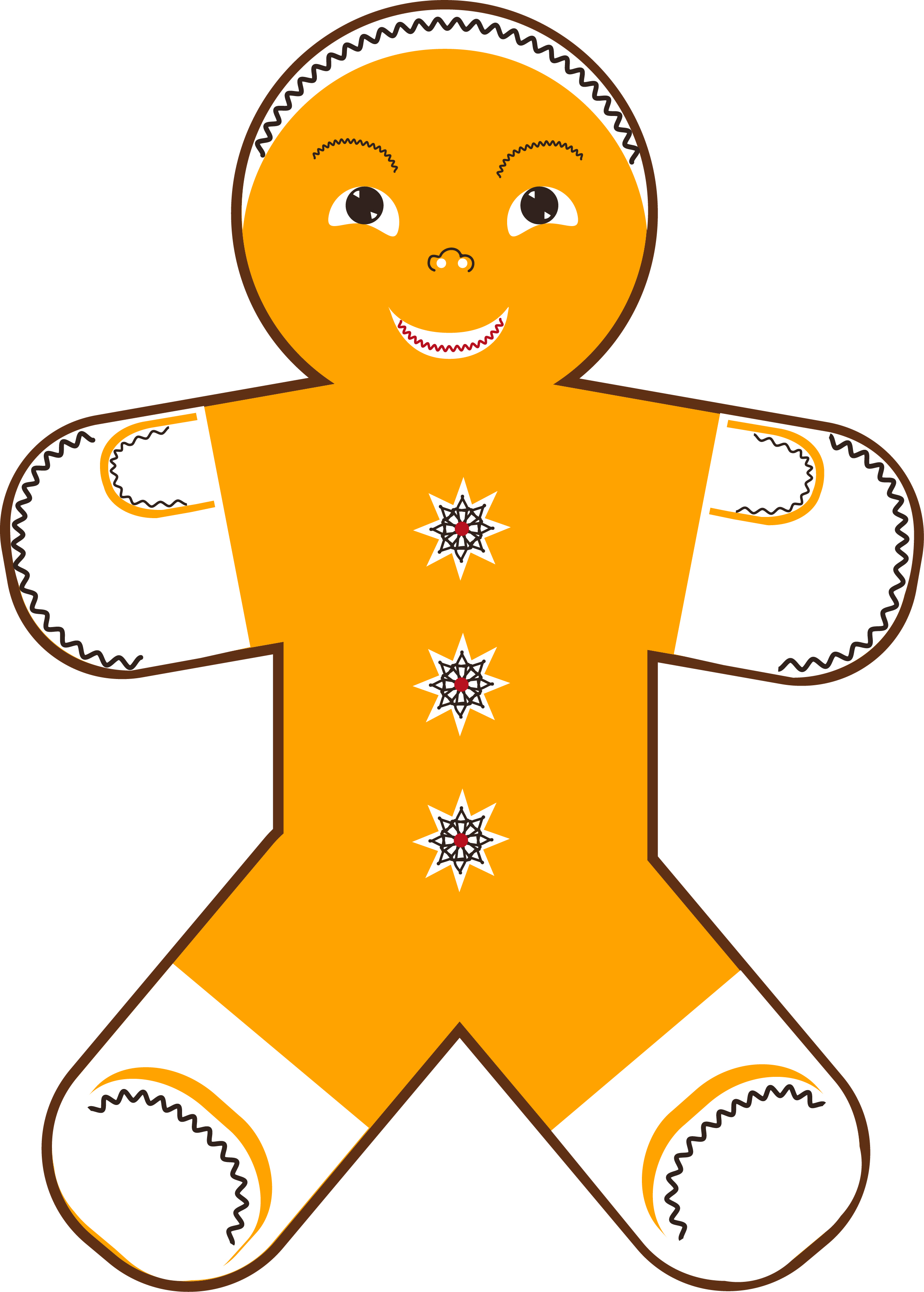 New Year Gingerbread Man example image 5