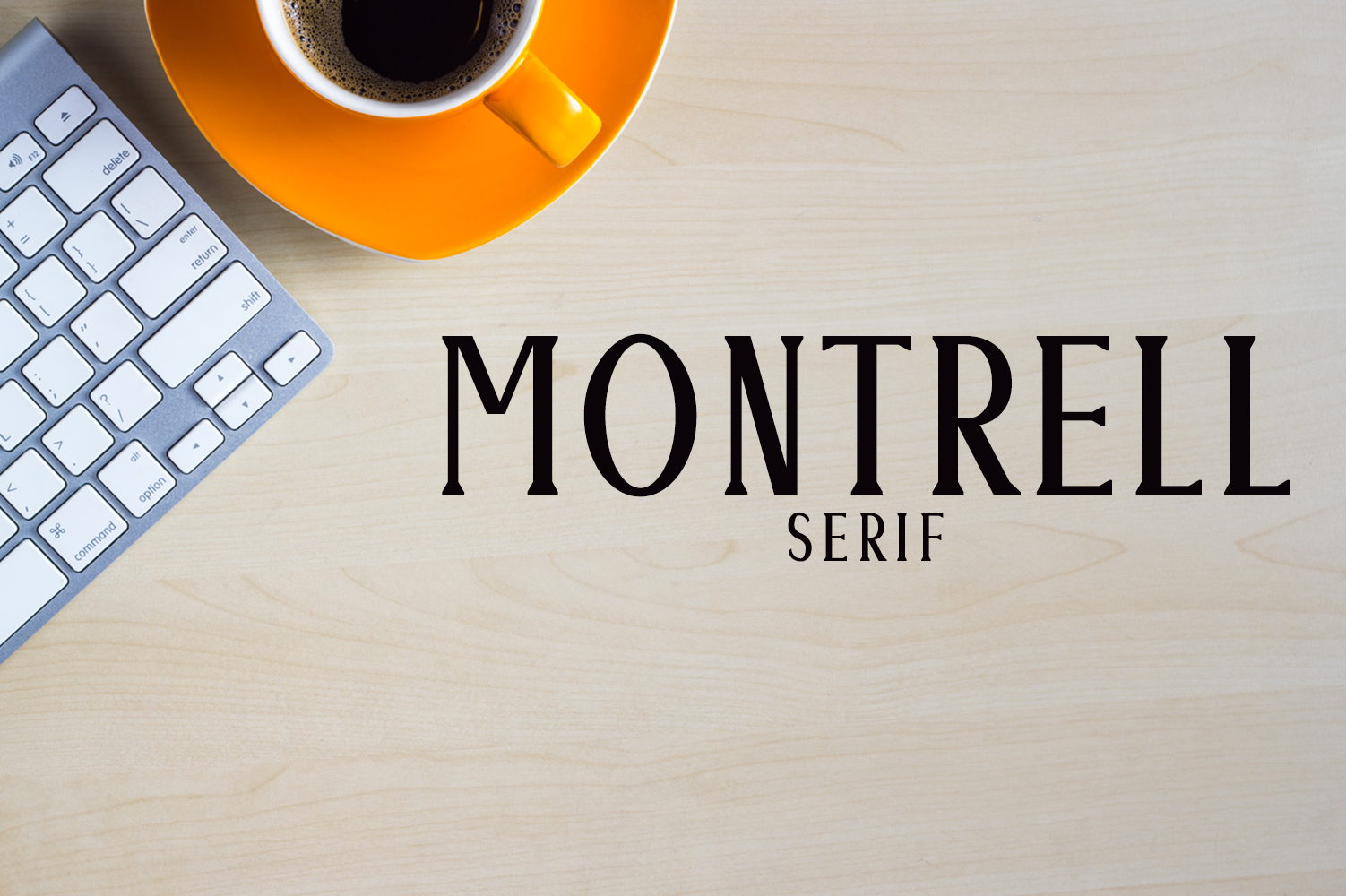 Montrell Serif Typeface example image 1