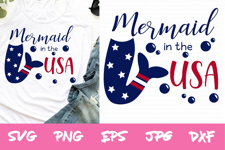 4th of july svg, memorial day svg mermaid svg, summer svg example image 1
