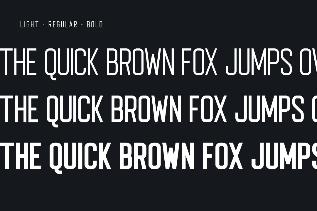 Voltage Sans Serif example image 3