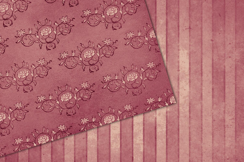 Warm October Textures - Vintage Digital Paper example image 3