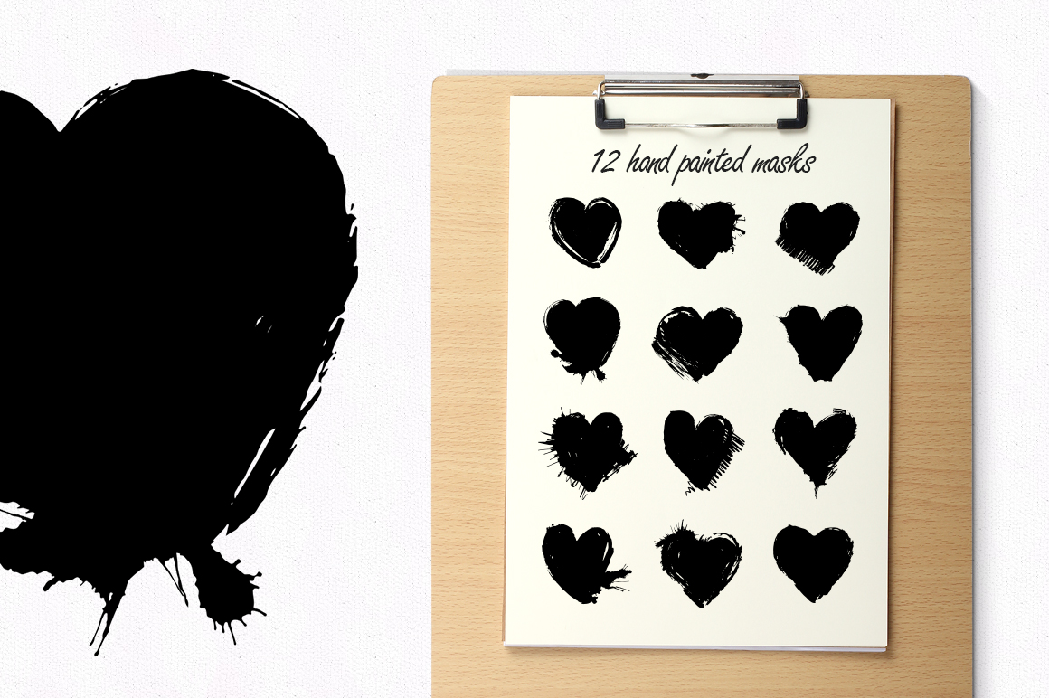 Heart masks. Instagram. example image 2