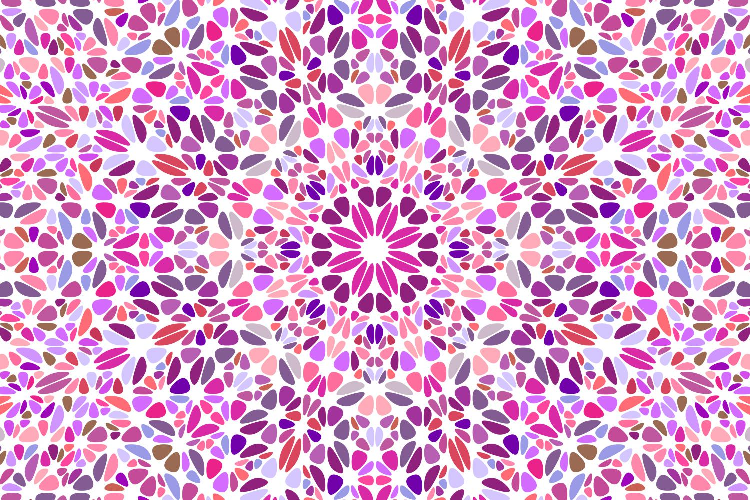 48 Floral Mandala Backgrounds example image 12