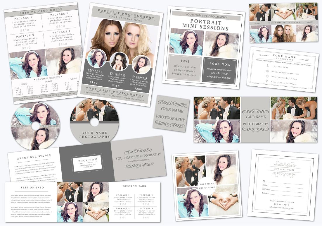 Photography Marketing Set 001 example image 1