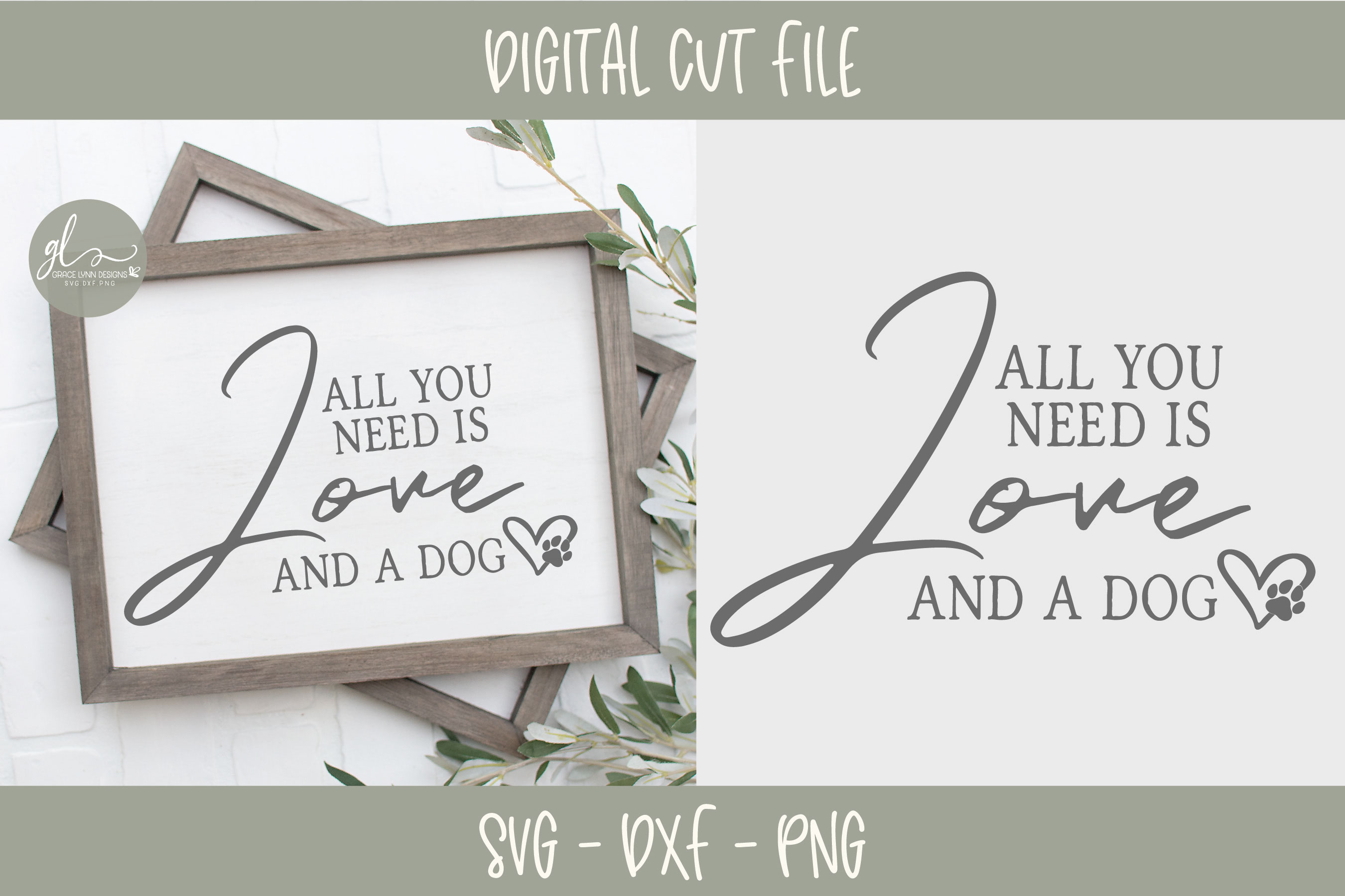 Dog Quotes Bundle Vol. 1 - 12 Designs - SVG Cut Files example image 7