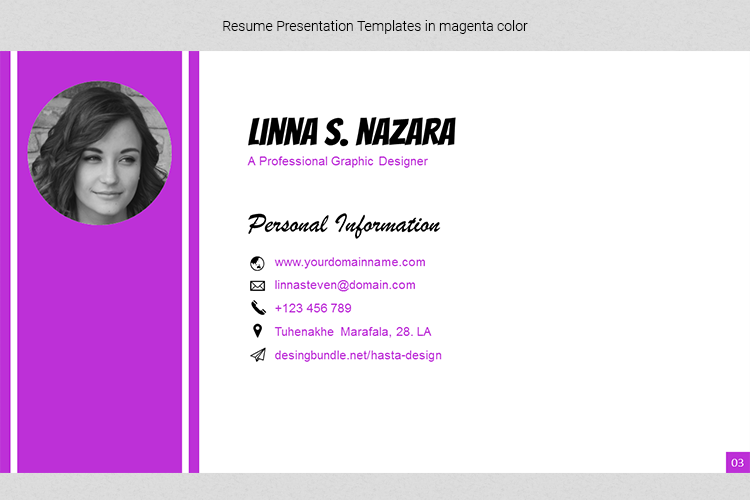 A4 Resume Templates Word example image 20
